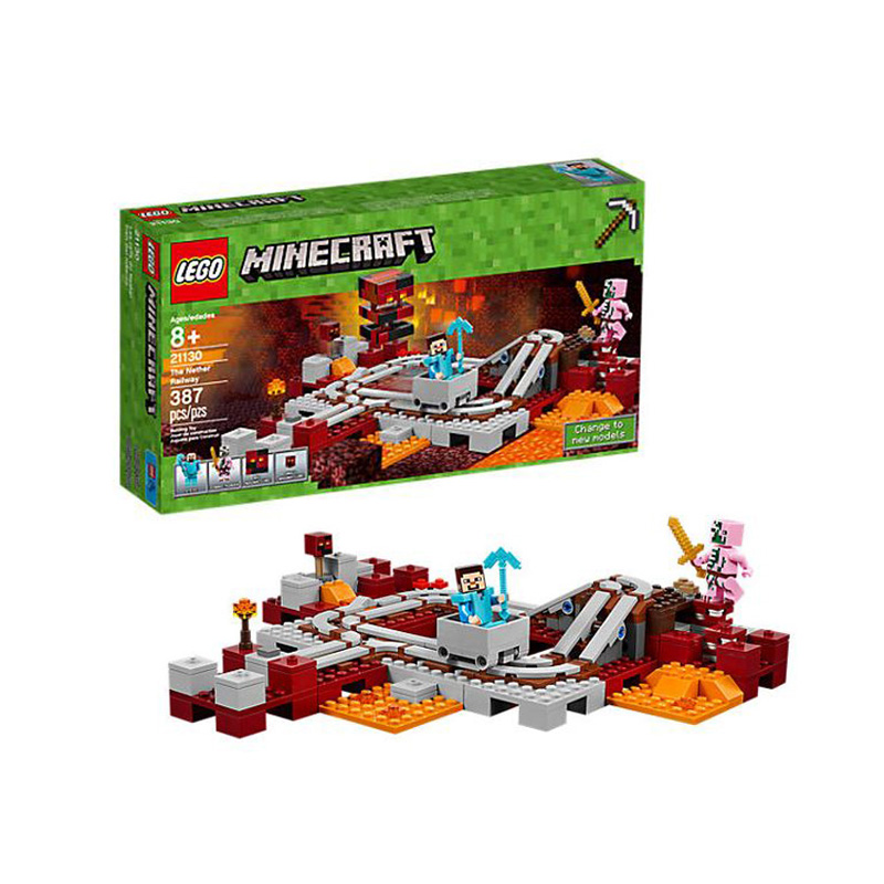 LEGO 乐高 我的世界系列 21130 地下铁路