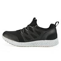 匹克2018秋季新款男子休闲鞋轻便耐磨包裹防滑运动鞋经典时尚男鞋 (43、黑色)