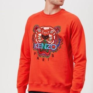 限尺码 :  KENZO Tiger Logo Icon  男士卫衣