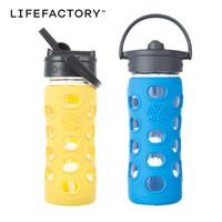 Lifefactory 儿童水杯 防漏玻璃水杯