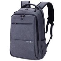 维多利亚旅行者 VICTORIATOURIST 双肩包电脑包15.6英寸 男女商务防水双肩背包V9006灰色