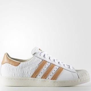 限大码 : adidas Originals SUPERSTAR 80S 男款休闲运动鞋