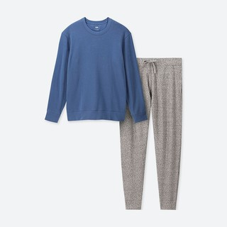 UNIQLO 优衣库 Ultra stretch 408801 男士起居套装