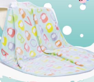 BRAVO 馨而乐 舒适儿童毛毯法兰绒毯 小羊图案 75cm*100cm