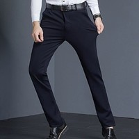 Crocodile 鳄鱼恤 98651061 男士弹力休闲裤