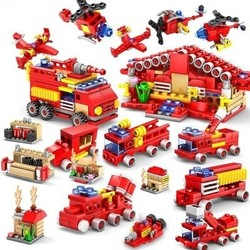 KAZI 开智 消防系列 全套16盒
