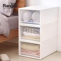 Rangec 能及厨 透明抽屉式收纳盒 单个装 27.2*18.5*9.6cm