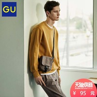 GU 极优 306673 男士卫衣 (灰色、165)