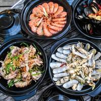 现炒蟹宴+24种海鲜畅吃 上海浦东喜来登由由大酒店自助晚餐