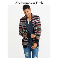 Abercrombie & Fitch 230450-1 男士图案披肩式开衫 (XS)