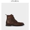 ZARA 15057302105 男士雕花短靴