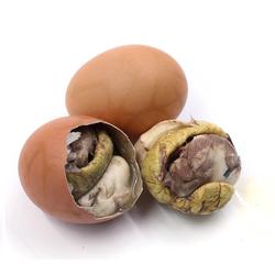 农谣 活珠子(熟)毛鸡蛋 20枚+阿都沁 牛脆骨肉 1kg装
