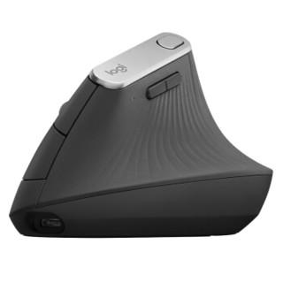 Logitech 罗技 MX Vertical 无线蓝牙双模鼠标 黑色
