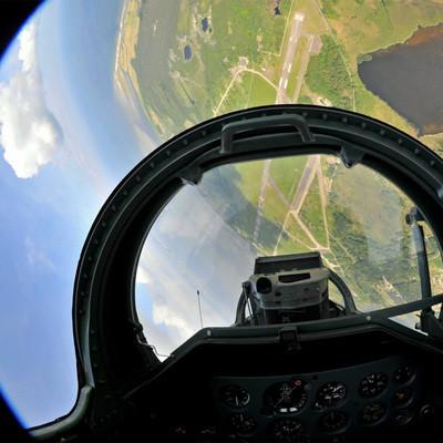 战斗机!4万英尺!特技飞行!乘坐L-39轻型战斗机