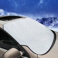 YIKA 逸卡 汽车遮雪挡前挡 防雪板防风加厚