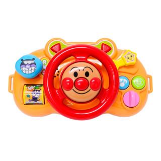 13号0点:ANPANMAN 面包超人 宝宝音乐方向盘 橙色