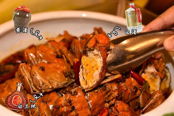 白兰地醉蟹+惠灵顿牛肉 坐享外滩美景 上海大厦大闸蟹自助晚餐