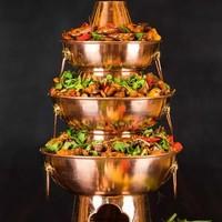 3层牛蛙锅+臧书羊肉+2.5两大闸蟹 苏州万怡酒店自助晚餐