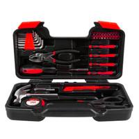 赛拓(SANTO)家用工具套装 工具箱组套 螺丝批 榔头套装 多用工具箱 *3件