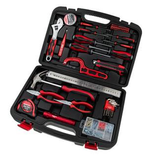 万克宝(WORKPRO)W1150 多功能实用家用工具箱套装50件套 工具套装电工木工维修五金手动工具组套工具盒