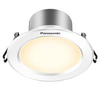 松下(Panasonic)NNNC75092 逸放系列家用小型金属筒灯 5W白框4000K *3件