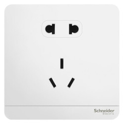 Schneider Electric 施耐德 绎尚 正位五孔插座 *3件