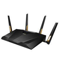 ASUS 华硕 RT-AX88U 6000M WiFi 6 家用路由器 黑色