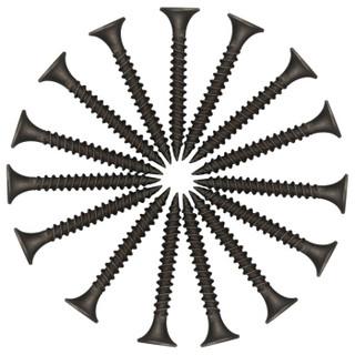 吉米家居 JM-G163550A 干壁钉子螺丝钉螺纹钉十字自攻螺丝纤维板钉3.5*50mm200g一盒
