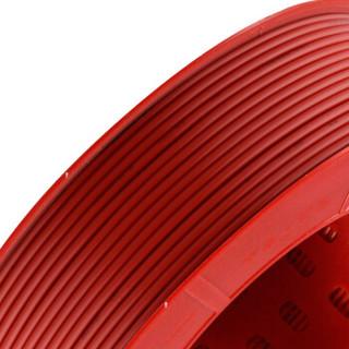 德力西(DELIXI)电线电缆 BV1.5平方 单芯单股铜线 家装家用铜芯电线 100米 红色火线