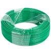 正泰(CHNT) 电线电缆 4平方 绿色 100米单股铜照明电源线