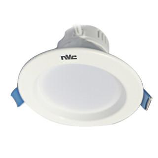 雷士照明(NVC)筒灯 led筒灯天花灯 8W白色灯面4000K暖白光