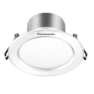 松下(panasonic)LED段调色筒灯过道走廊天花灯筒灯射灯NNNC75446白色5W