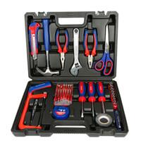 万克宝(WORKPRO)W009048N 家用工具箱套装 电工木工维修五金手动工具组套40件套
