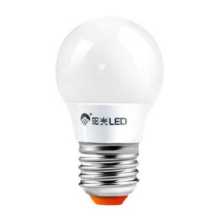 阳光照明 光圆系列LED球泡 E27螺口 黄光 2.8W*5支