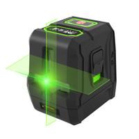 吉米家居 JM-G25092G 2线绿光水平仪激光红外线投线仪高精度超强打线仪电子激光尺二线