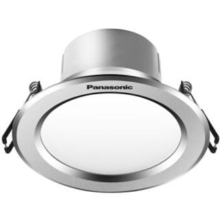Panasonic 松下 NNNC75141 逸放系列家用小型金属筒灯 3W银框5000K