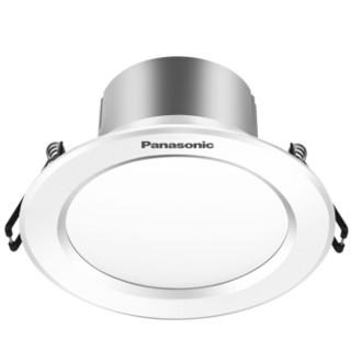 Panasonic 松下 NNNC75140 逸放系列家用小型金属筒灯 3W白框5000K