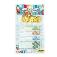 詹妮 万圣节海盗金币玩具(含金币15枚+纸币20张)