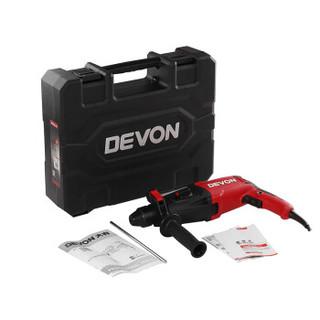 大有(Devon)1107-26E 26m多功能轻型电锤 平钻锤钻两用