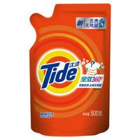 凑单品、有券的上: 汰渍 全效360度洗衣液 洁雅百合 500g *3件