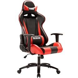 Bajiujian 八九间 WCG游戏座椅人体工学电竞椅 红色滑轮款