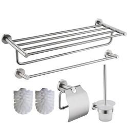 科固(KEGOO)K05360S 304不锈钢浴室挂件套装