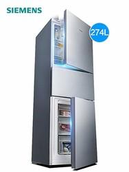 SIEMENS 西门子 KG27FA296C  三门冰箱 274升