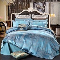 Xanlenss 轩蓝仕 纯棉贡缎亲肤四件套 1.8米床适用