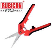 罗宾汉(RUBICON)进口 RCZ-627电工剪刀 不锈钢多用剪 电工工具 6寸半160mm