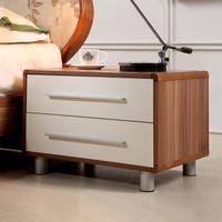 A家家具 床头柜 简约板木组装卧室床头柜 床边储物柜 A030