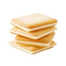 好利来 北海道芝士牧场白色恋人夹心饼干12枚/盒零食恋人饼干 北海道芝士牧场