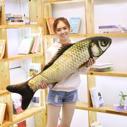 聆语寻 仿真鱼抱枕 40cm