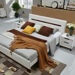 QuanU 全友 121802 卧室成套家具 1.8米床+床头柜+床垫