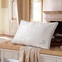 LOVO 乐蜗家纺 100%桑蚕丝奢华提花枕头